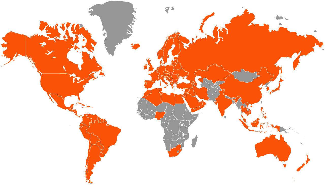 NetRange Global Coverage